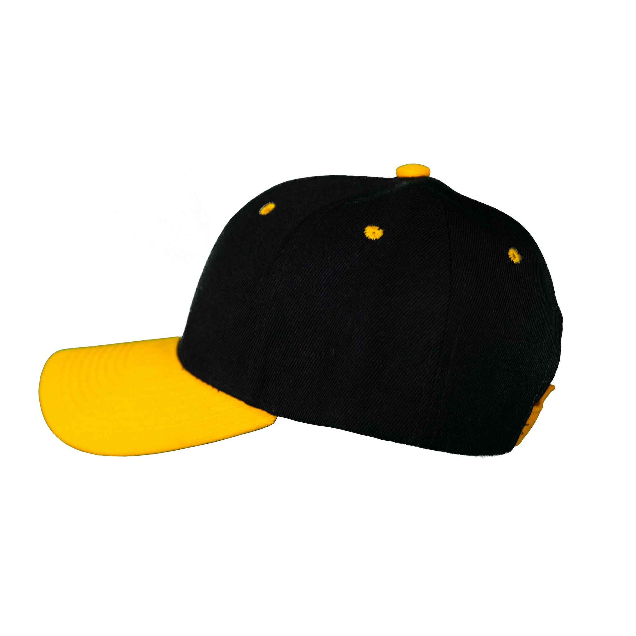 Basic Two-Tone Velcro Back Black And Gold
