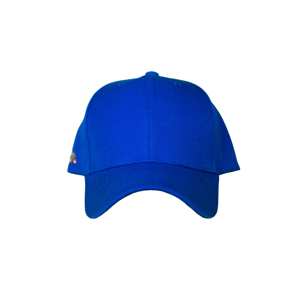 Basic Solid Pre-Bent Snap Back in Royal