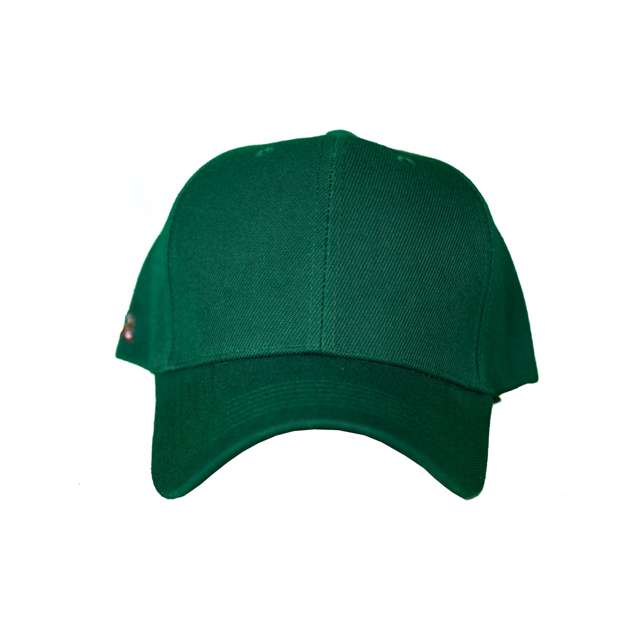 Basic Solid Pre-Bent Snap Back in Green
