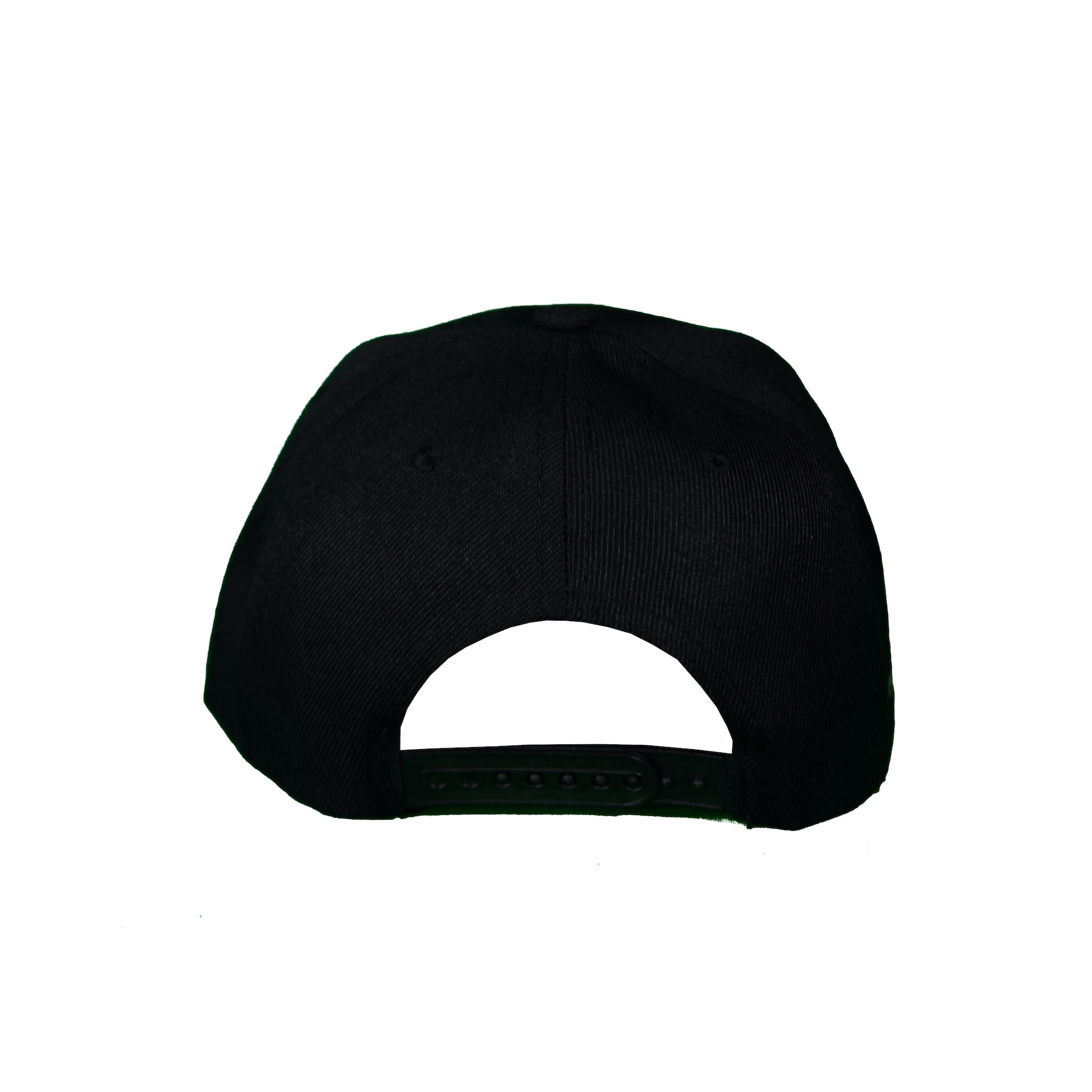 Basic Solid Snap Back in Black