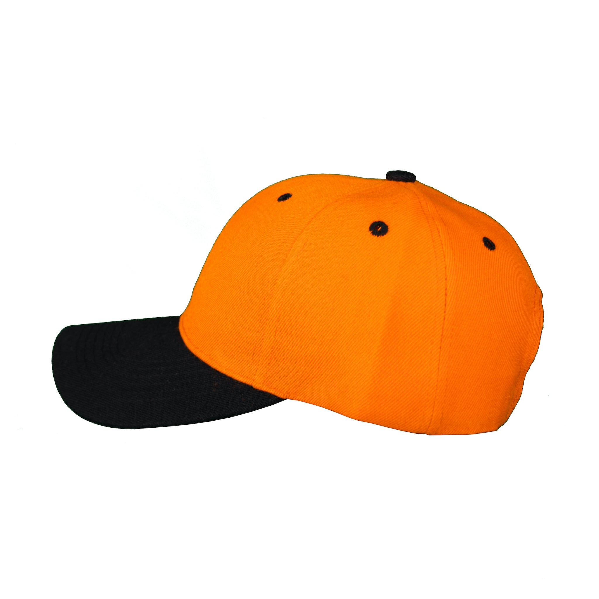 Basic Two-Tone Velcro Back Orange And Black