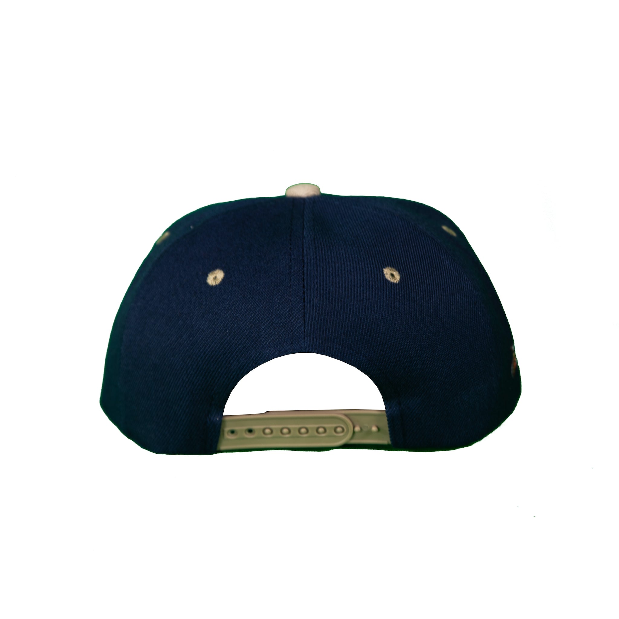 Basic Two-Tone Snap Back Navy and Gray