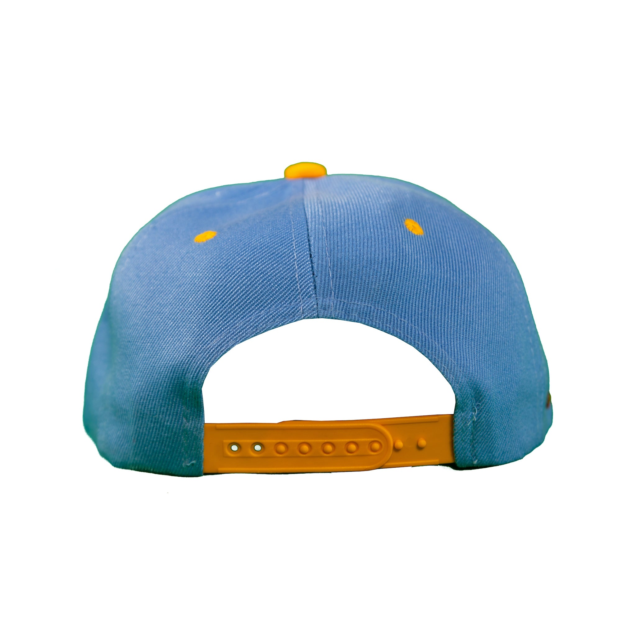 Basic Two-Tone Snap Back in Carolina And Gold