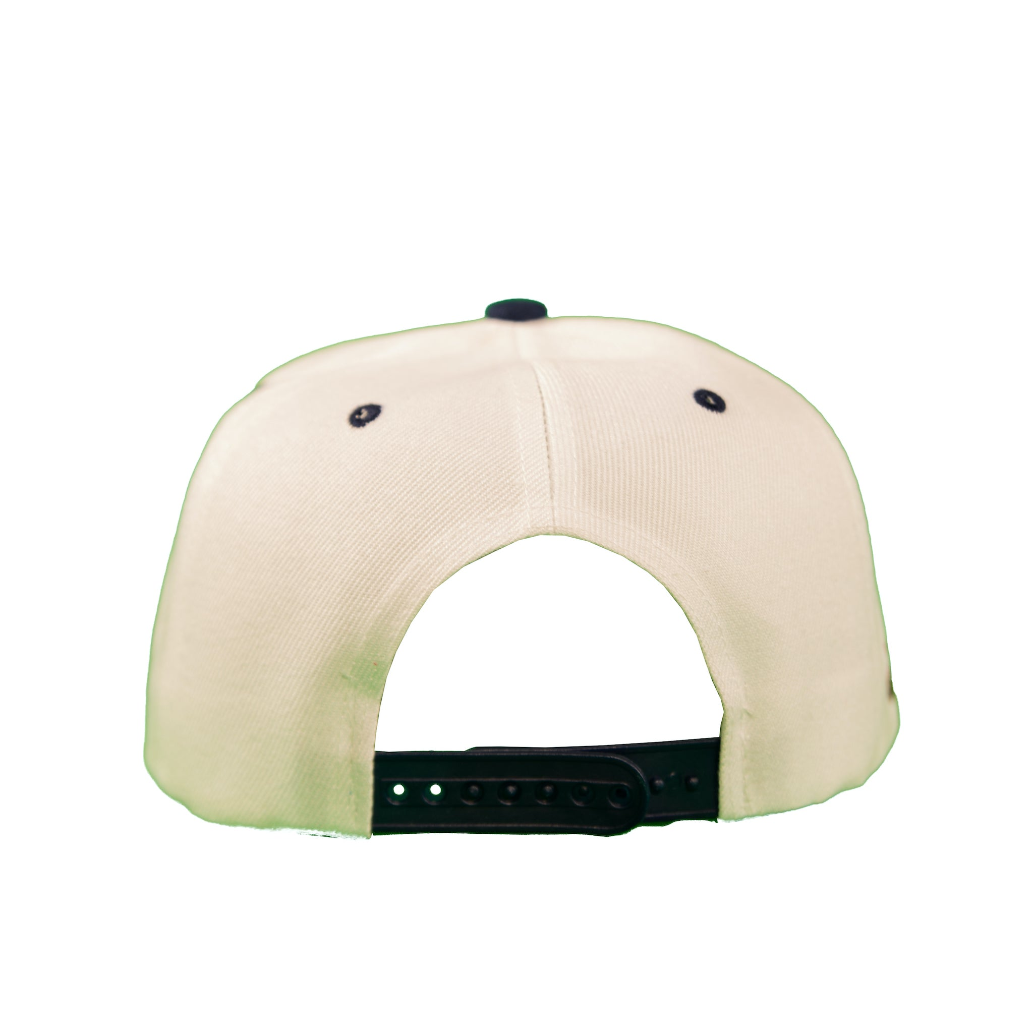 Basic Two-Tone Snap Back in White And Navy