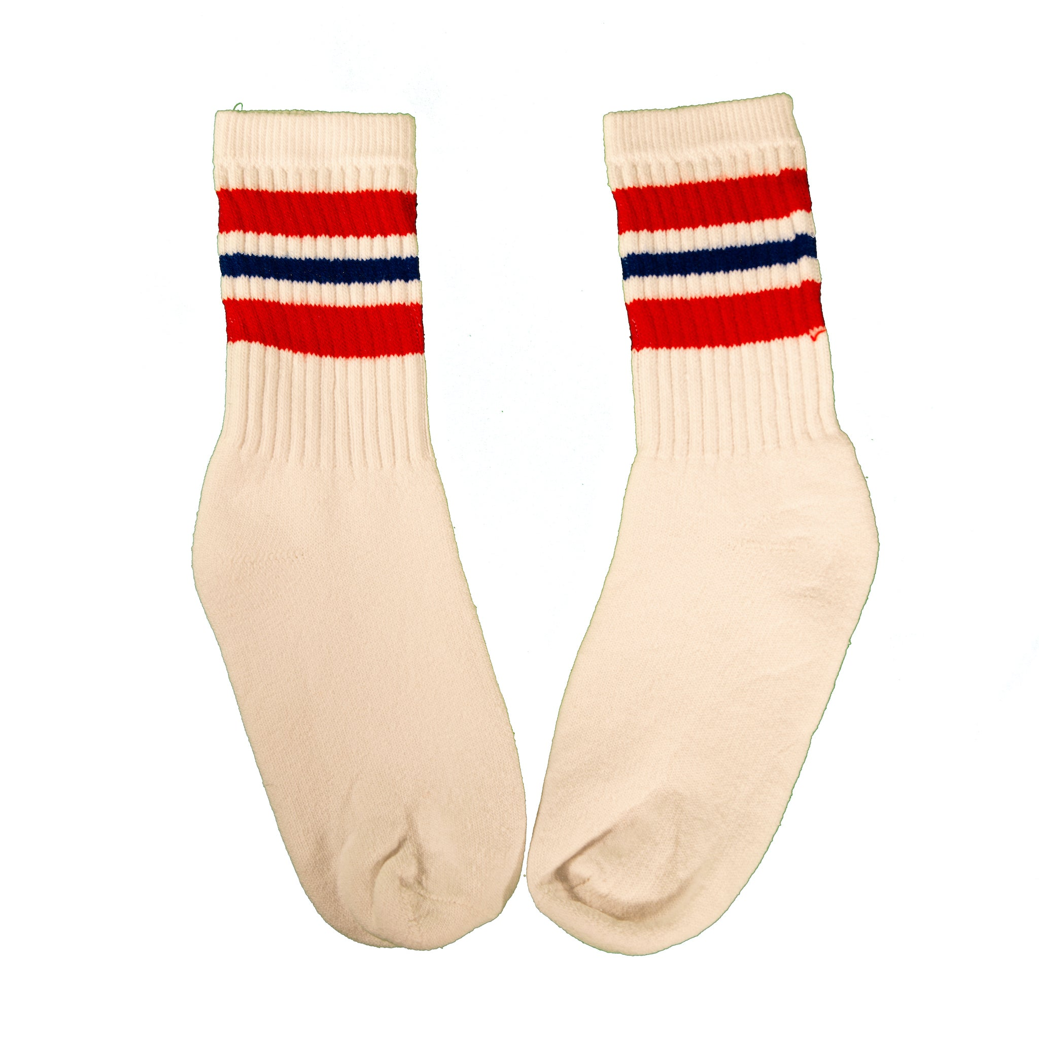 Milk And Honey Classic Tube Socks in Red and Royal