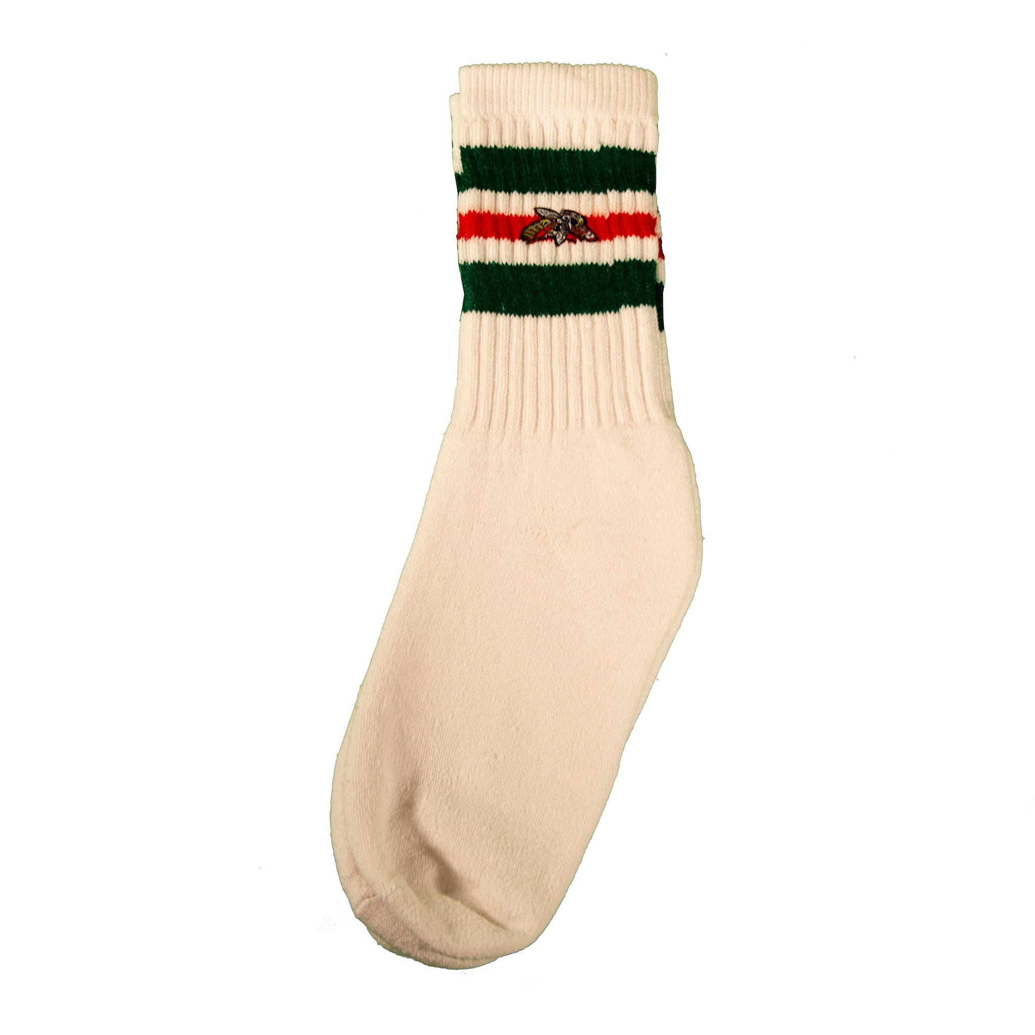 Milk And Honey Classic Tube Socks Green and Red