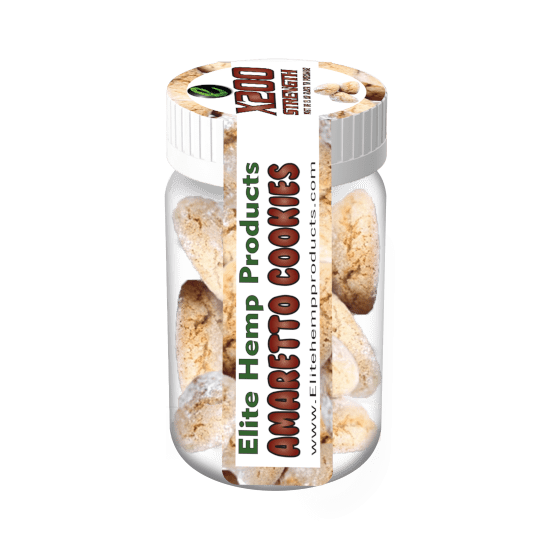 CBD Infused Cookies 200mg Amaretto-The Illumibuddy Company