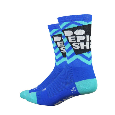 Do Epic Shit Socks: Blue on Blue