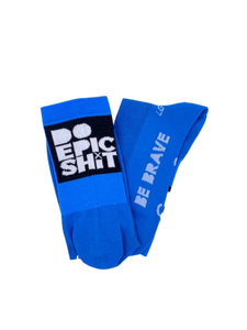 Do Epic Shit Socks: Blue