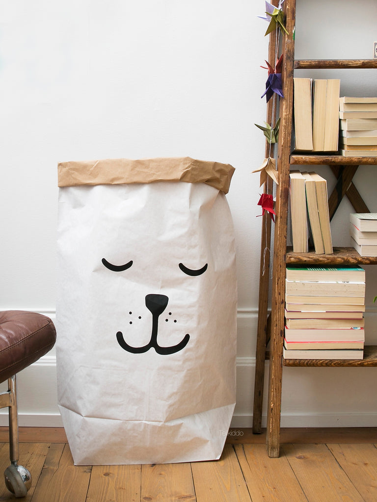... Storage Paper Bag Sleeping Bear