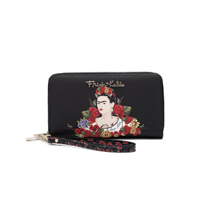 Amor de Flor Double Zipper Wallet