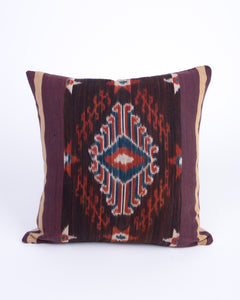 Ikat Woven Cushion - Walla Mangata