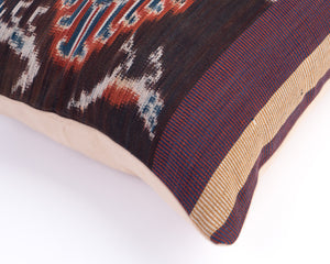 Ikat Woven Cushion - Tree