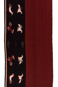 SMALL IKAT - CHICKEN AND BIRD