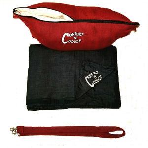 Comfort N Cuddly Wearable Pillow (Red)
