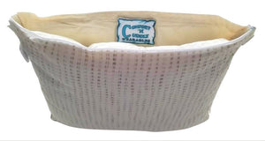 Comfort N Cuddly Wearable Pillow (Cream & Brown)
