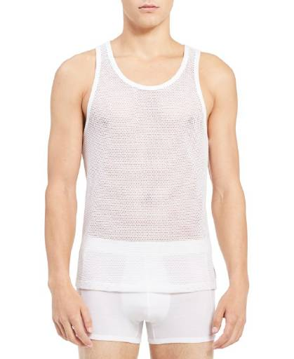 CLAVIN KLEIN BODY MESH TANK TOP - NB1350