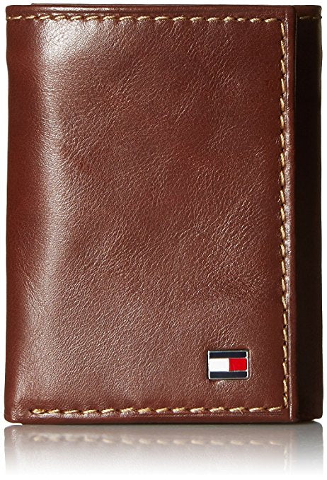 TOMMY HILFIGER LOGAN ZIPPERED TRIFOLD WALLET