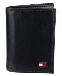 TOMMY HILFIGER OXFORD TRIFOLD WALLET