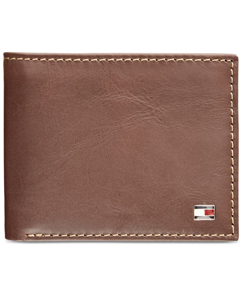 TOMMY HILFIGER LOGAN ZIPPERED PASSCASE WALLET