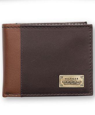 TOMMY HILFIGER MELTON PASSCASE WALLET