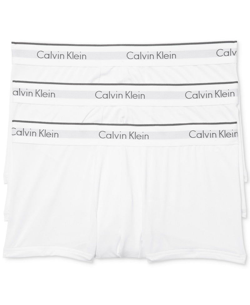 CALVIN KLEIN MICROFIBER STRETCH LOW RISE TRUNKS 3 PACK NB1289