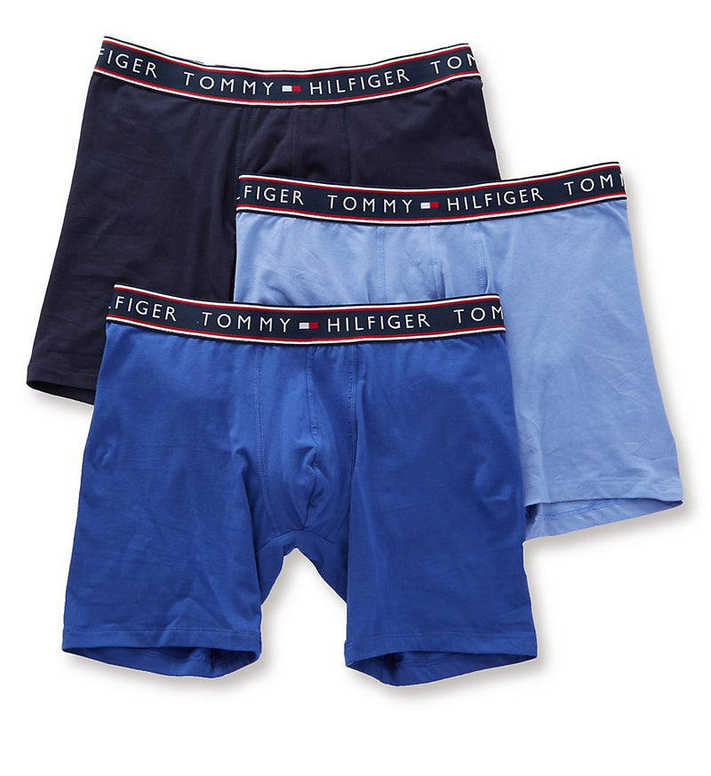 Tommy Hilfiger Cotton Classics Boxer Brief 3-Pack - Persian Blue
