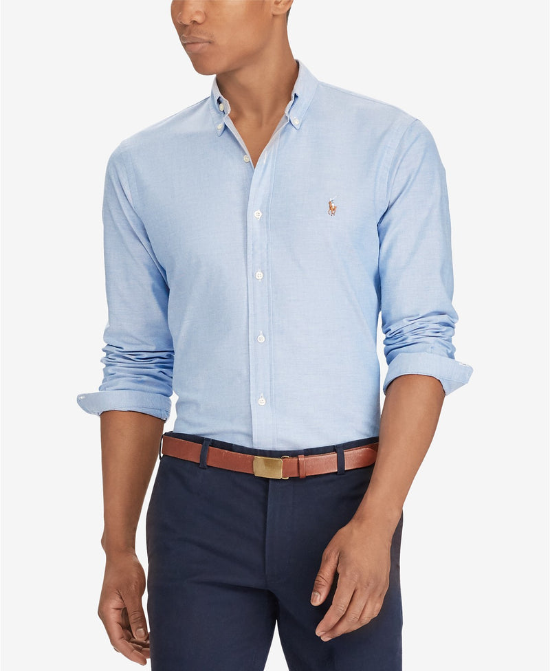 POLO RALPH LAUREN SLIM-FIT STRETCH OXFORD SHIRT