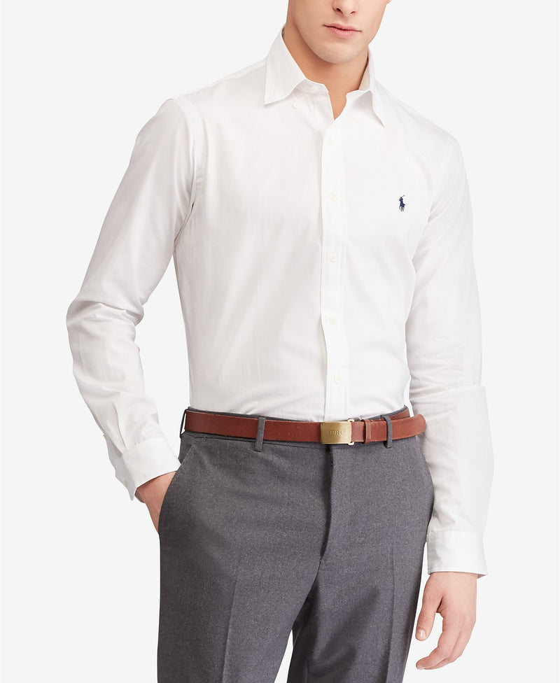 POLO RALPH LAUREN CLASSIC FIT STRETCH POPLIN SHIRT