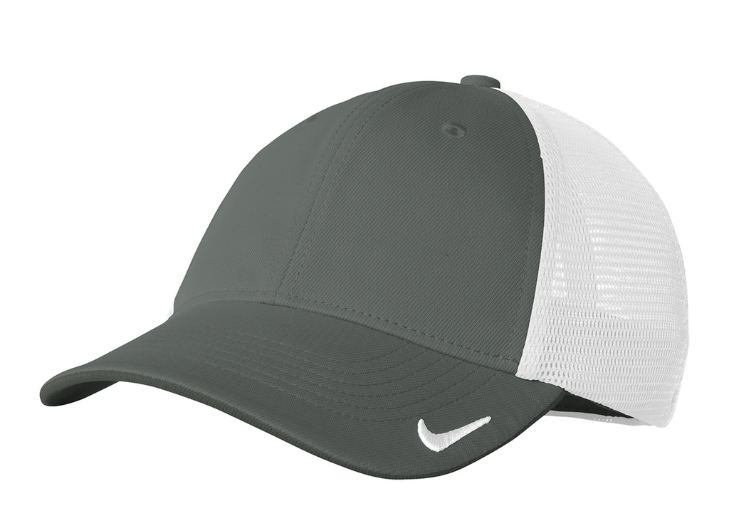 NIKE GOLF MESH BACK CAP II - Anthracite/White