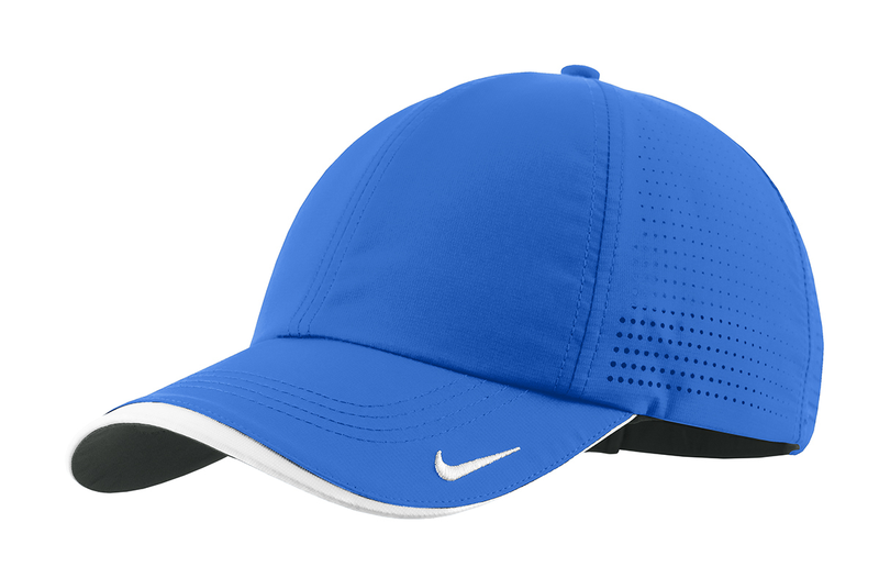 Nike Golf - Dri-FIT Swoosh Perforated Cap - Blue Sapphire
