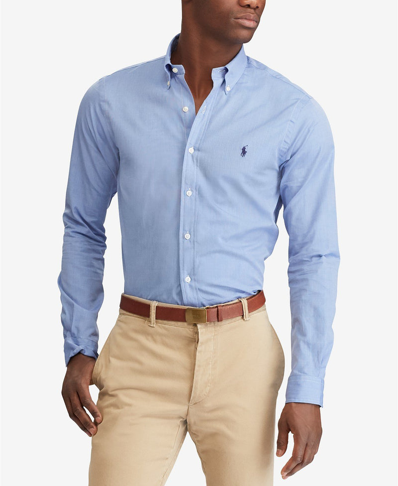 POLO RALPH LAUREN SLIM FIT STRETCH POPLIN