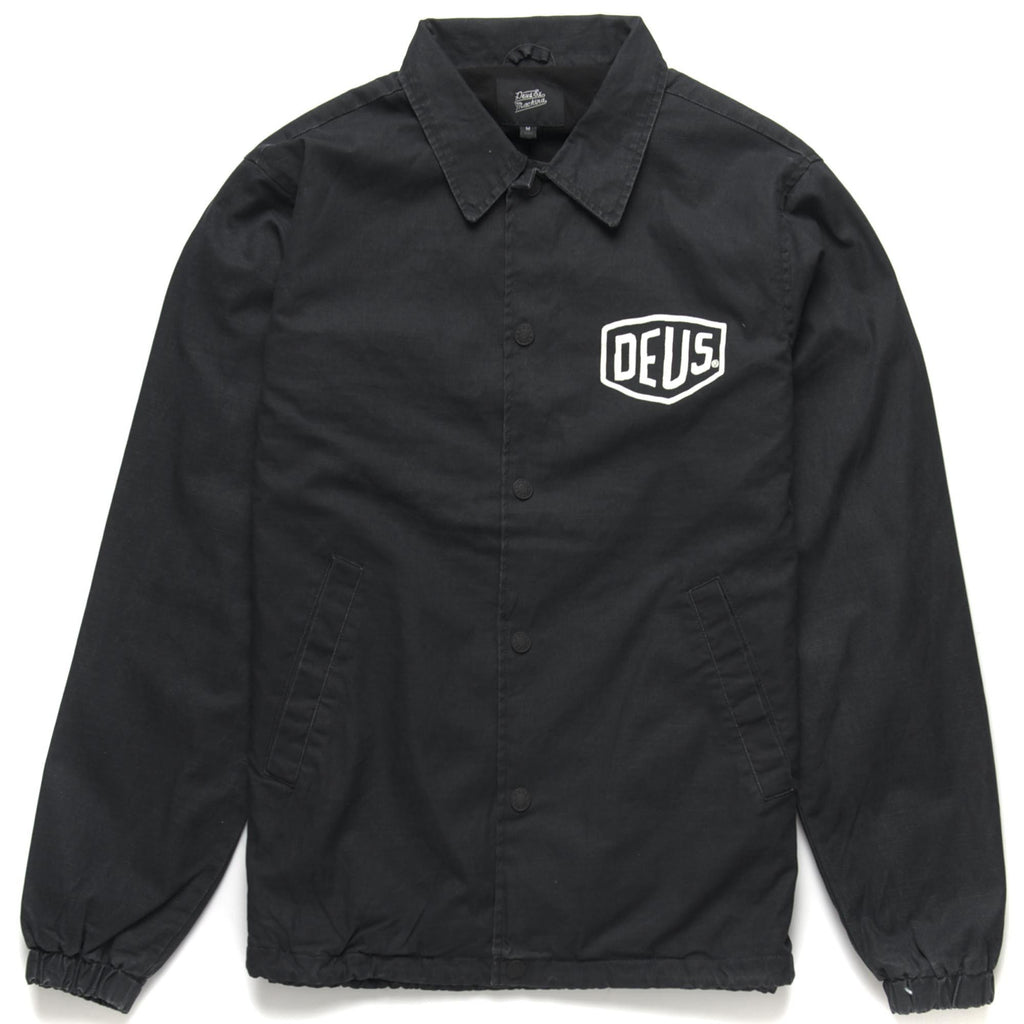 CAMPERDOWN COACH JACKET - BLACK
