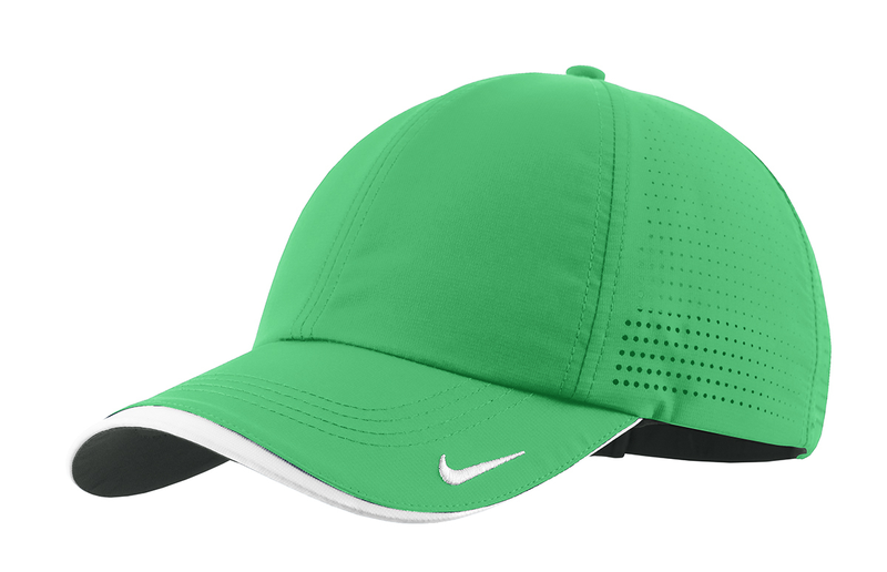 Nike Golf - Dri-FIT Swoosh Perforated Cap -Lucky Green