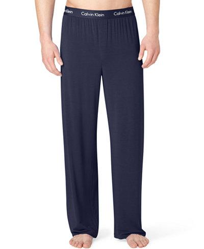 BODY MODAL - SLEEP/LOUNGE PJ PANT KNIT U1143 - BLUE SHADOW