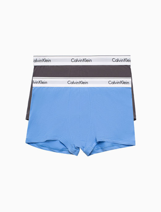 CALVIN KLEIN MODERN COTTON STRETCH 2 PACK TRUNK NB1086