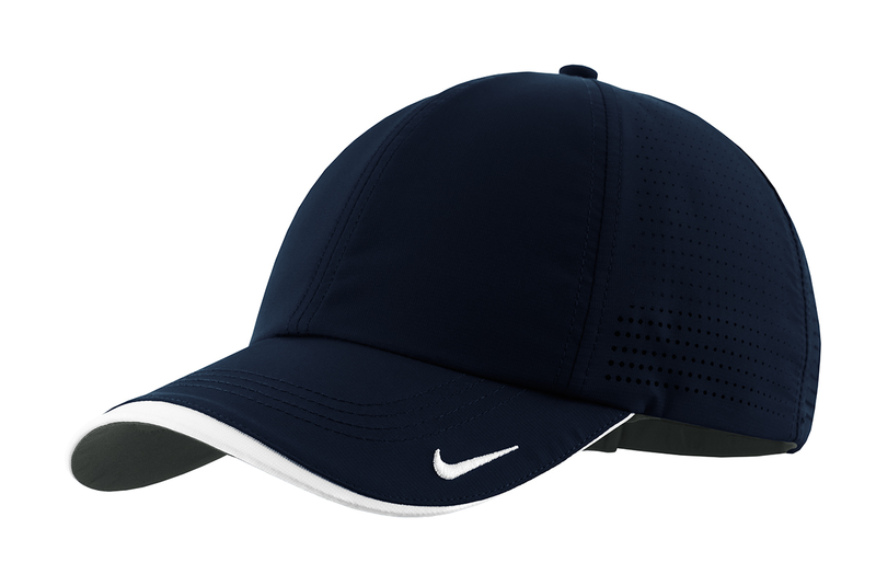 Nike Golf - Dri-FIT Swoosh Perforated Cap - Navy