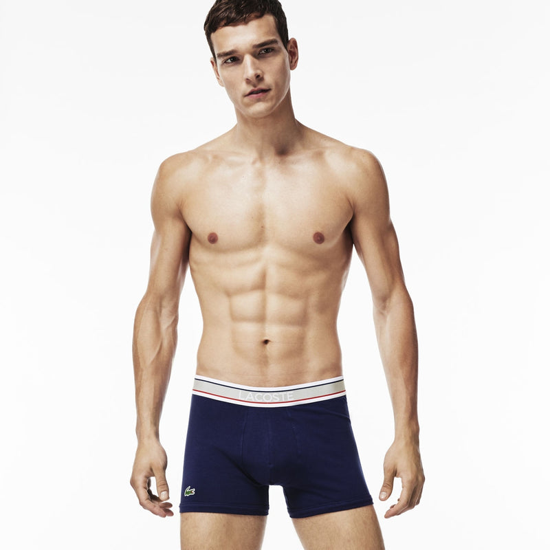 Men's 3 Pack Signature Cotton Stretch Trunk