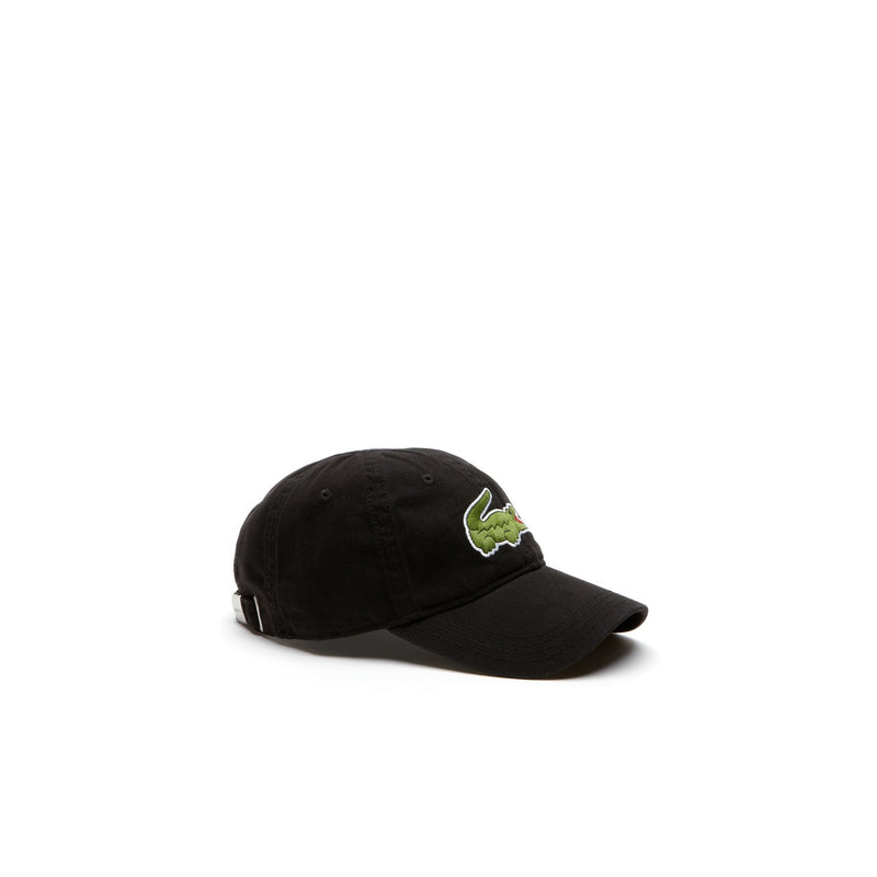 Men's Big Croc Gabardine Cap - Black