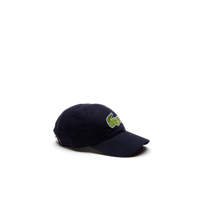 Men's Big Croc Gabardine Cap - Navy Blue