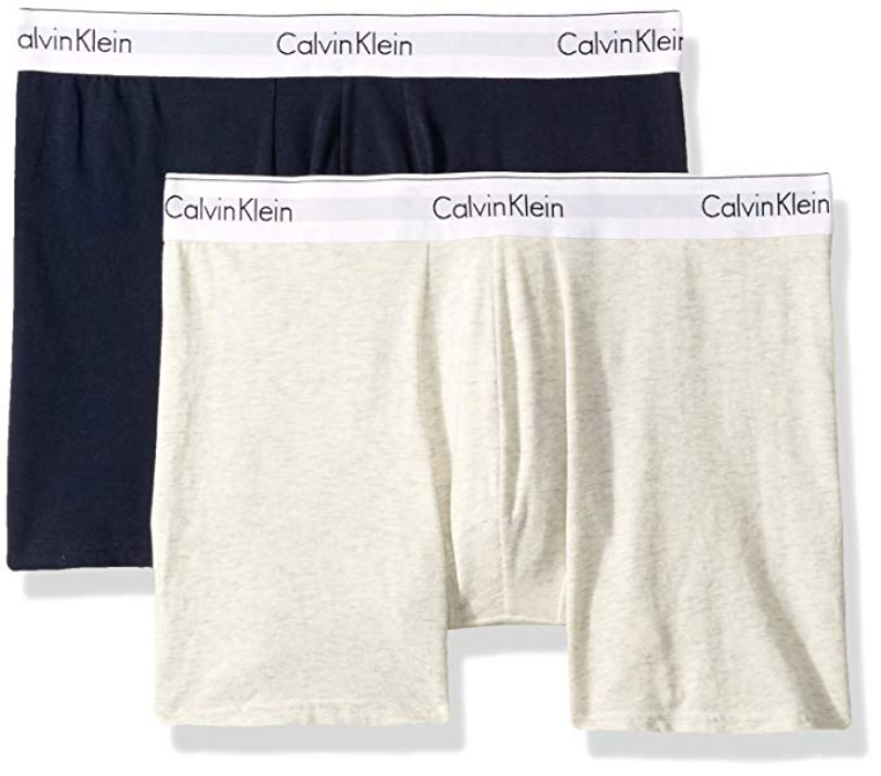 CALVIN KLEIN MODERN COTTON STRETCH 2 PACK BOXER BRIEF NB1087