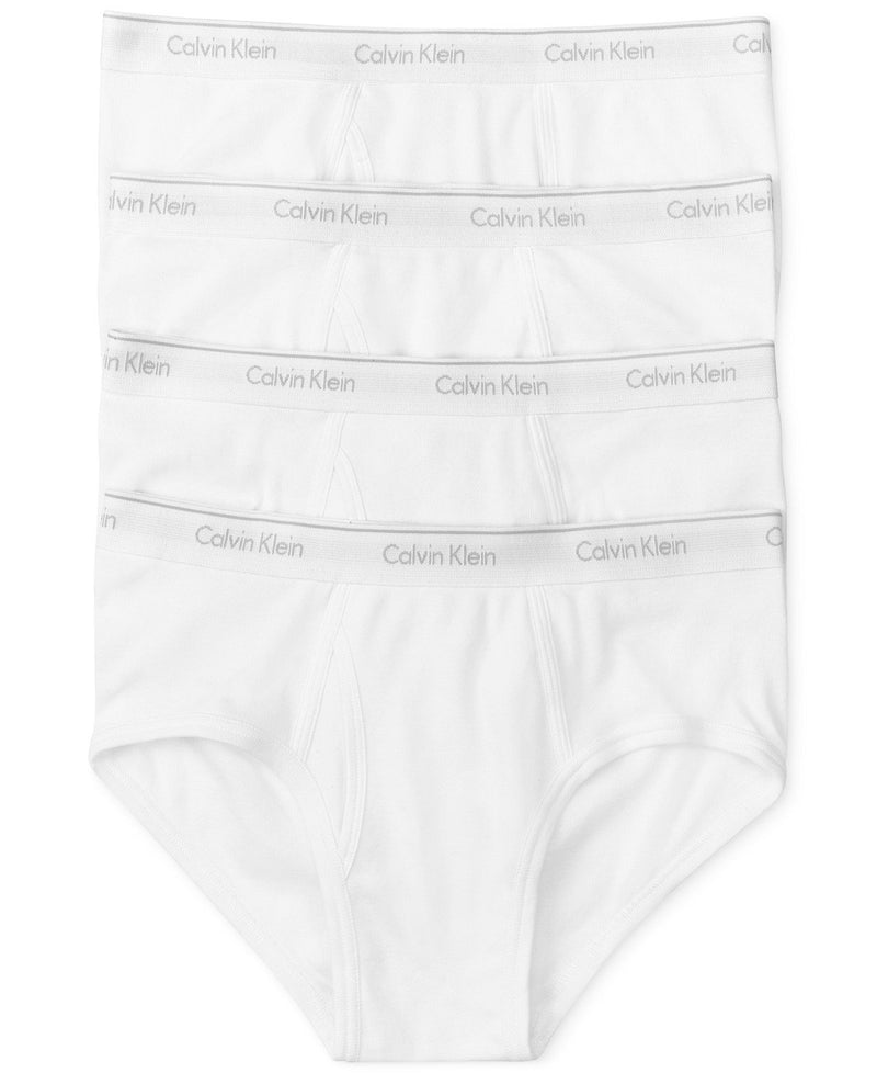 COTTON CLASSICS BRIEF 4 PACK U4000 - WHITE