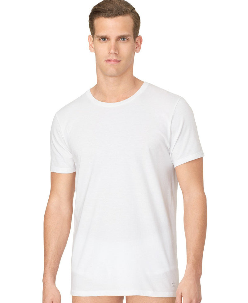 COTTON CLASSICS S/S CREW NECK TEE 3 PACK U4001 - WHITE
