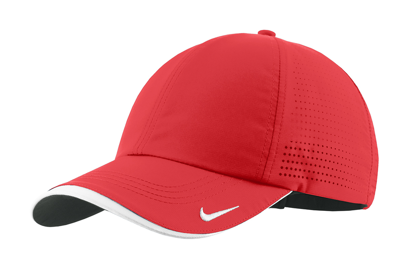 Nike Golf - Dri-FIT Swoosh Perforated Cap - University Red