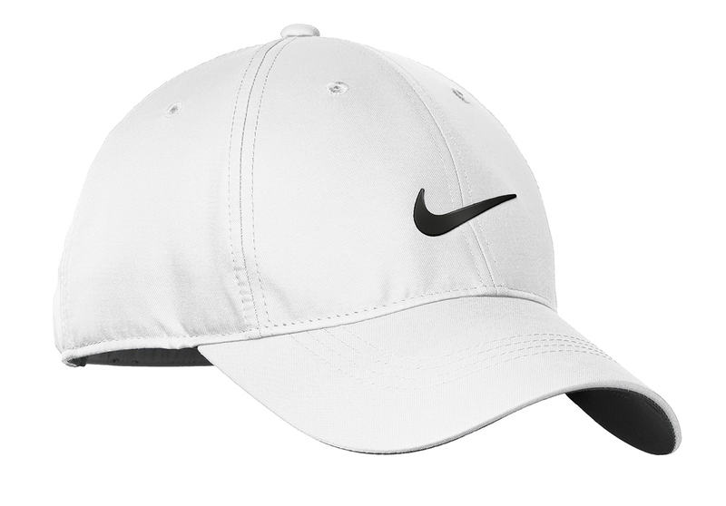 Nike Golf Dri-FIT Swoosh Front Cap - White/Black
