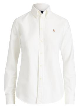 HARPER-LONG SLEEVE SHIRT - BSR White