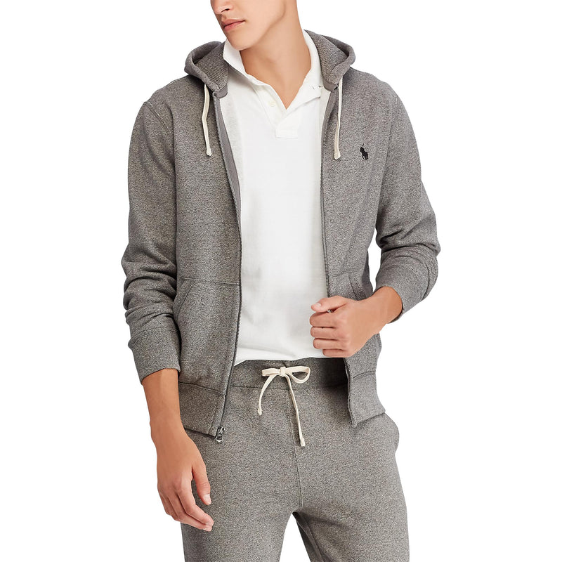 POLO RALPH LAUREN MEN'S LONG SLEEVE FLEECE ZIP HOODIE