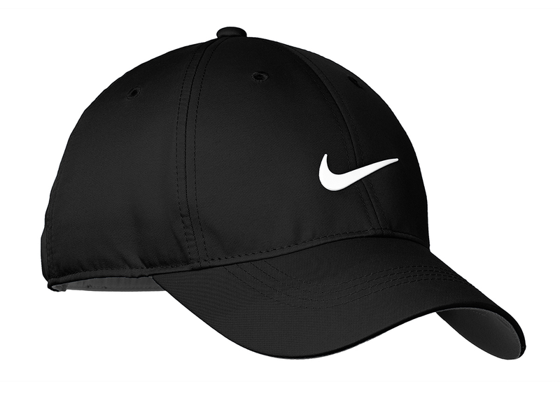 Nike Golf Dri-FIT Swoosh Front Cap - Black/White