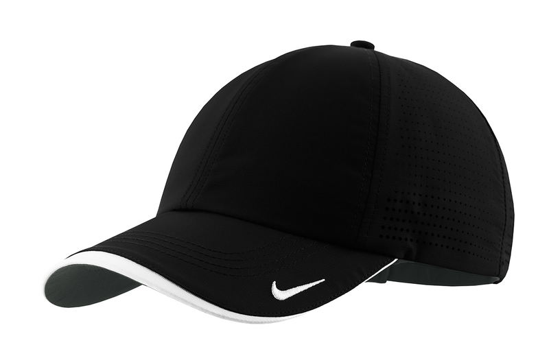 Nike Golf - Dri-FIT Swoosh Perforated Cap - Black