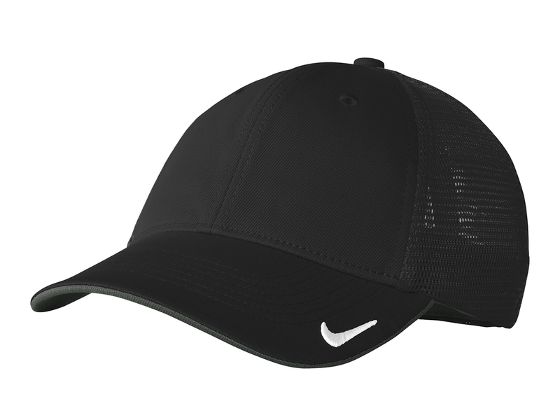 NIKE GOLF MESH BACK CAP II -Black/Black